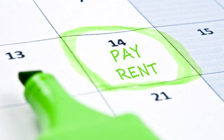 betaling huur laattijdig