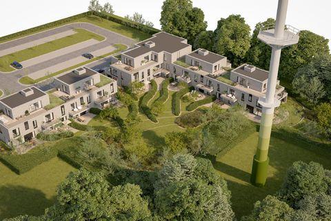 Ground floor with garden for sale in Wezembeek-Oppem